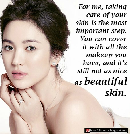 Beautiful Skin Quotes