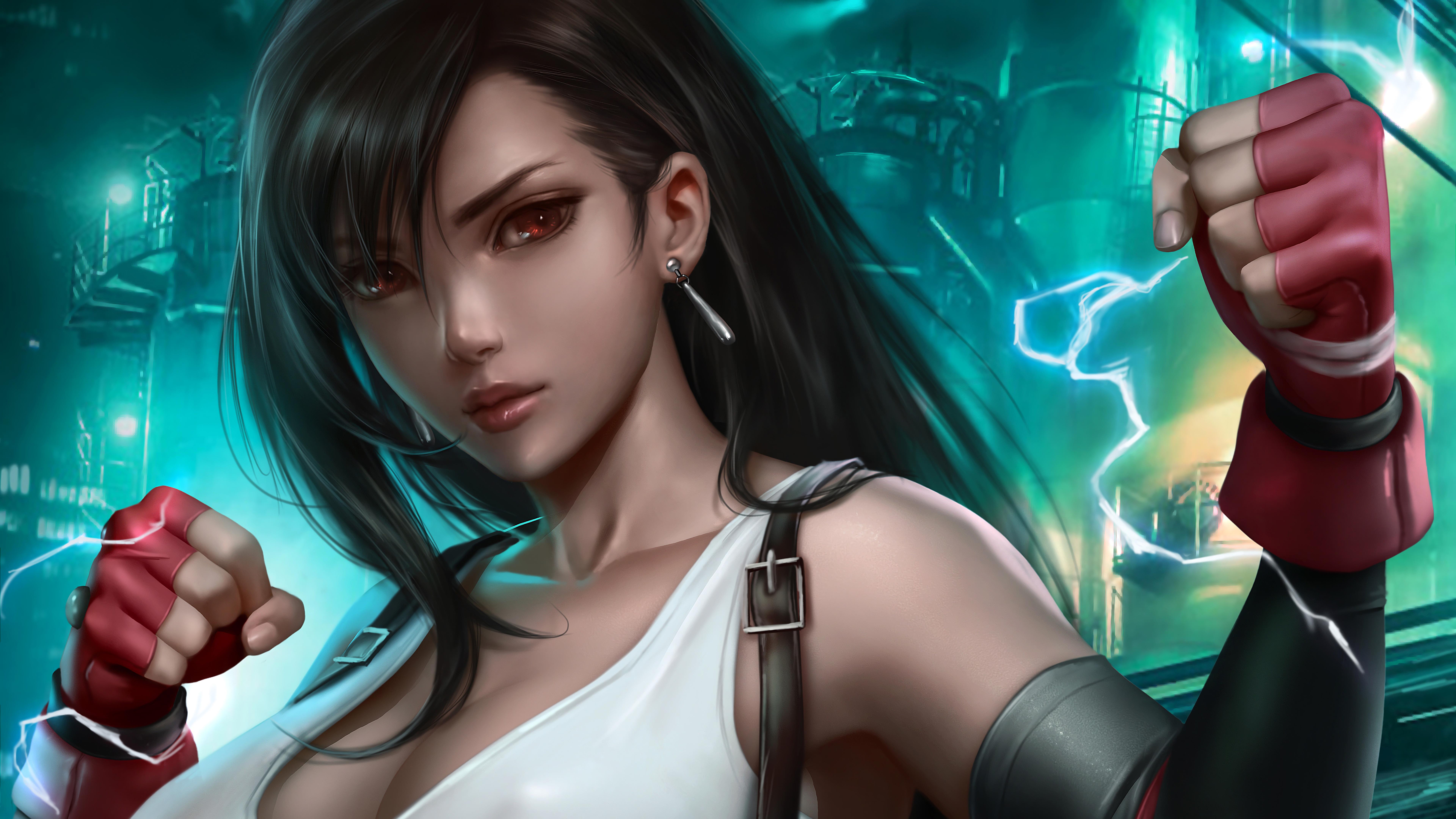 Tifa Lockhart, Final Fantasy 7 Remake, 4K, #37 Wallpaper
