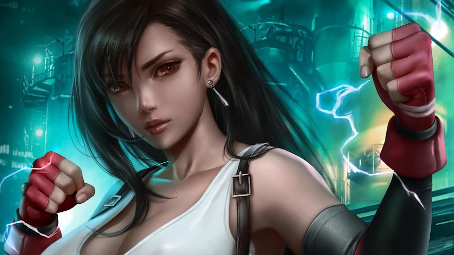 Tifa Lockhart Final Fantasy 7 Remake 4k Wallpaper 37
