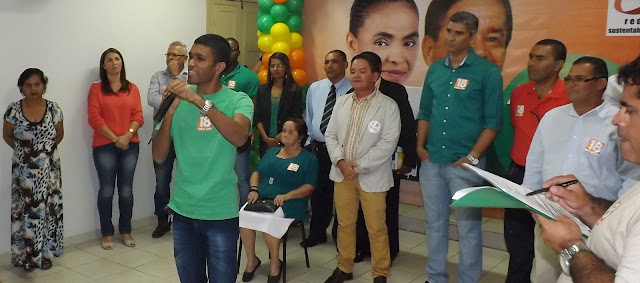 PMN oficializa candidatura de Sanchilis Oliveira à Vereador de Escada