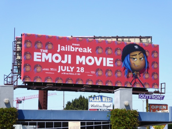Emoji Movie Jailbreak billboard