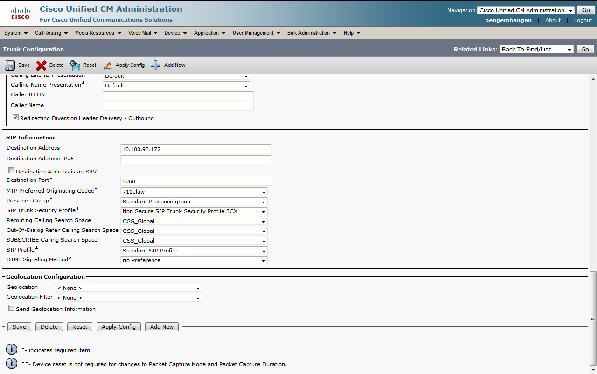 Cisco Cucm Sip Trunk Configuration Example