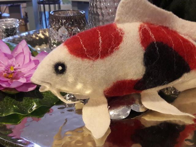 Fische filzen