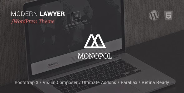 Responsive Lawyers & Business WordPress Theme