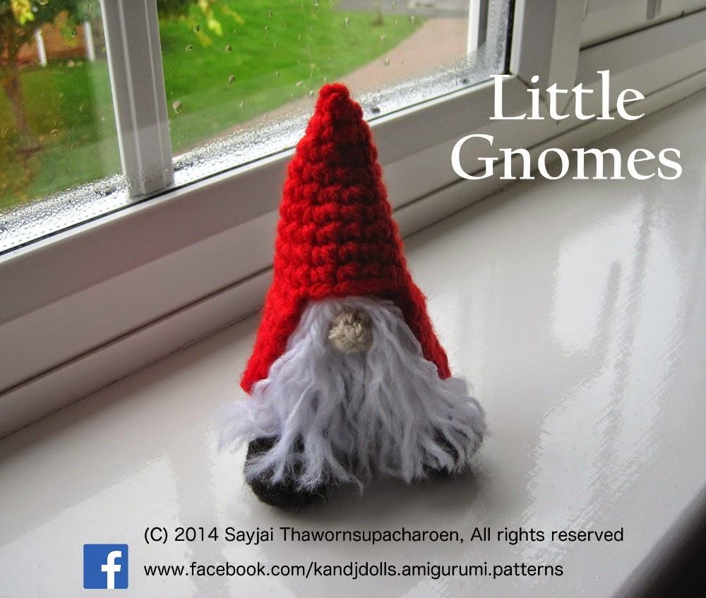 Little Bearded Gnomes Sayjai Amigurumi Crochet Patterns