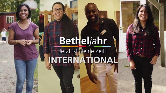 تعرف على Betheljahr وابدأ مشوارك في العمل الإجتماعي الذي يكسبك اللغة والخبرة اللازمة في ألمانيا