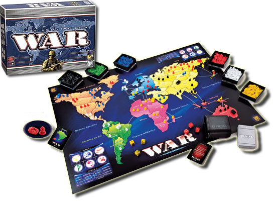 11 Jogos tabuleiro - War