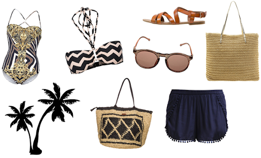 How To Style: Raffia Bag Summer Look