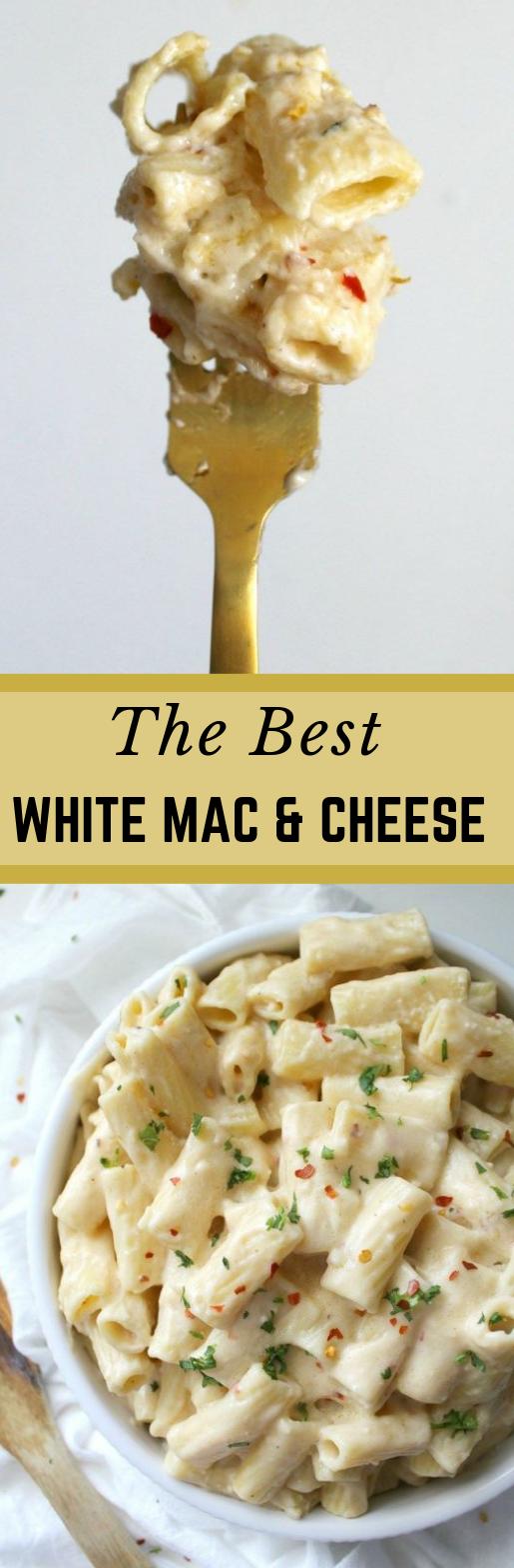 BEST VEGAN WHITE MAC AND CHEESE #vegan #vegetarian