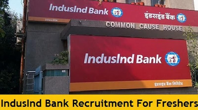 IndusInd Bank Recruitment indusind.com Apply Online Form