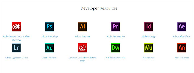 Developer resources section