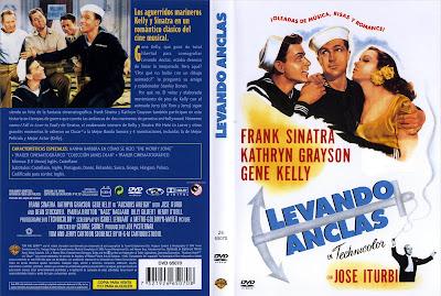 Carátula dvd: Levando anclas (1945) Anchors Aweigh