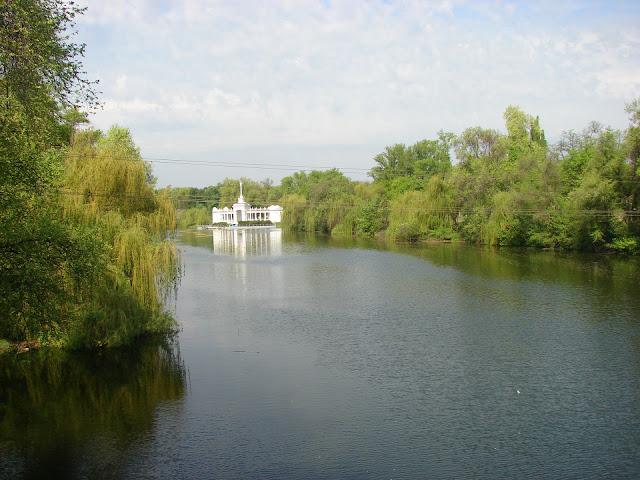 Река Ингулец вблизи нашего жилища