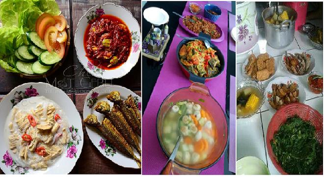 Resep masakan sehat untuk 1 minggu