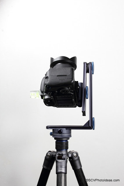 Novoflex Panorama=Q 6/8 II shooting Zenith B with VR System-Slim head and EOS 7D + SY 8mm Fish-Eye