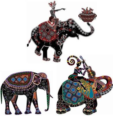 beautiful-ethnic-style-decorated-elephant