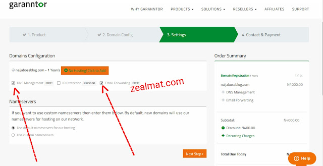 How to Buy Cheap Domain names from Garanntor.ng