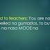 Deped to teachers - You are not compelled na gumastos, to buy things na nasa MOOE na