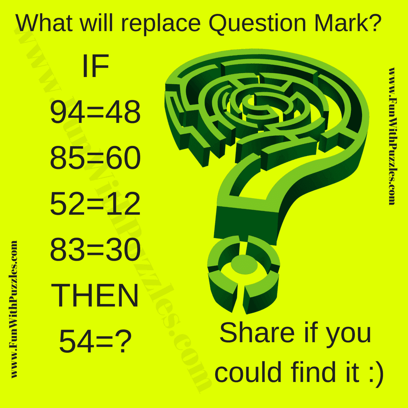 Mind-cracking Maths Puzzle for Adults and Answer-Fun With Puzzles