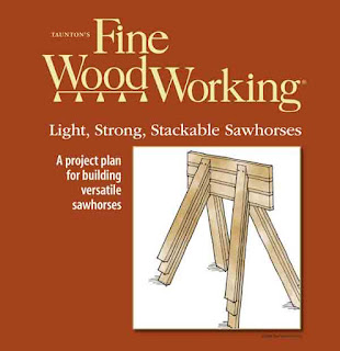 Stacking saw horse plans