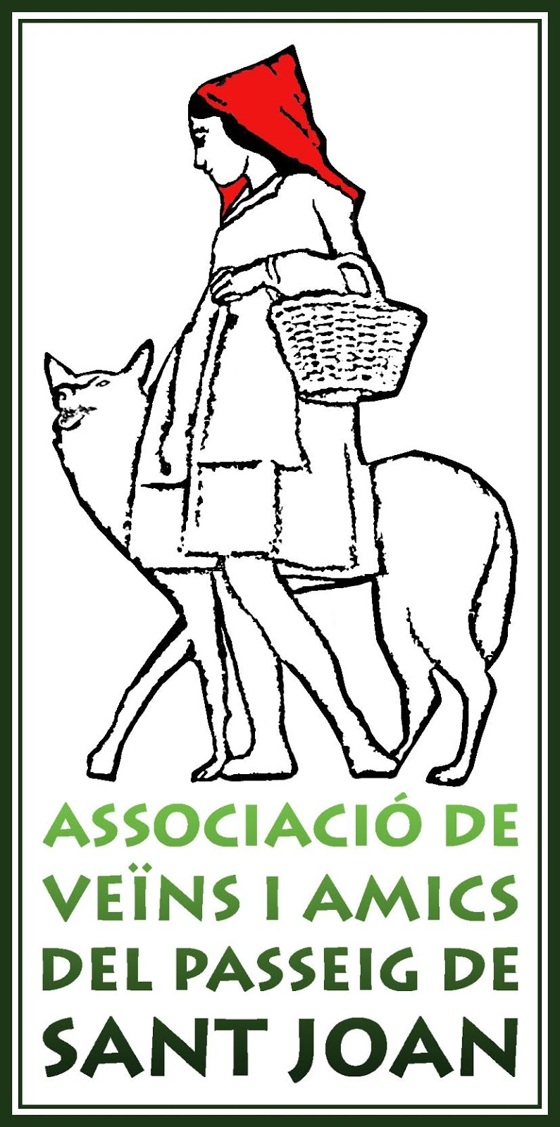 Resultat d'imatges de logo associacio veins passeig sant joan