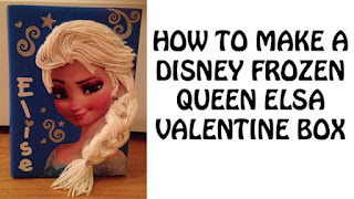 How to Make a Princess Elsa Valentine's Day Box
