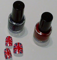 Union Jack Nail Art, Team GB Nail Art