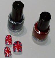 Union Jack Nail Art, Team GB Nail Art