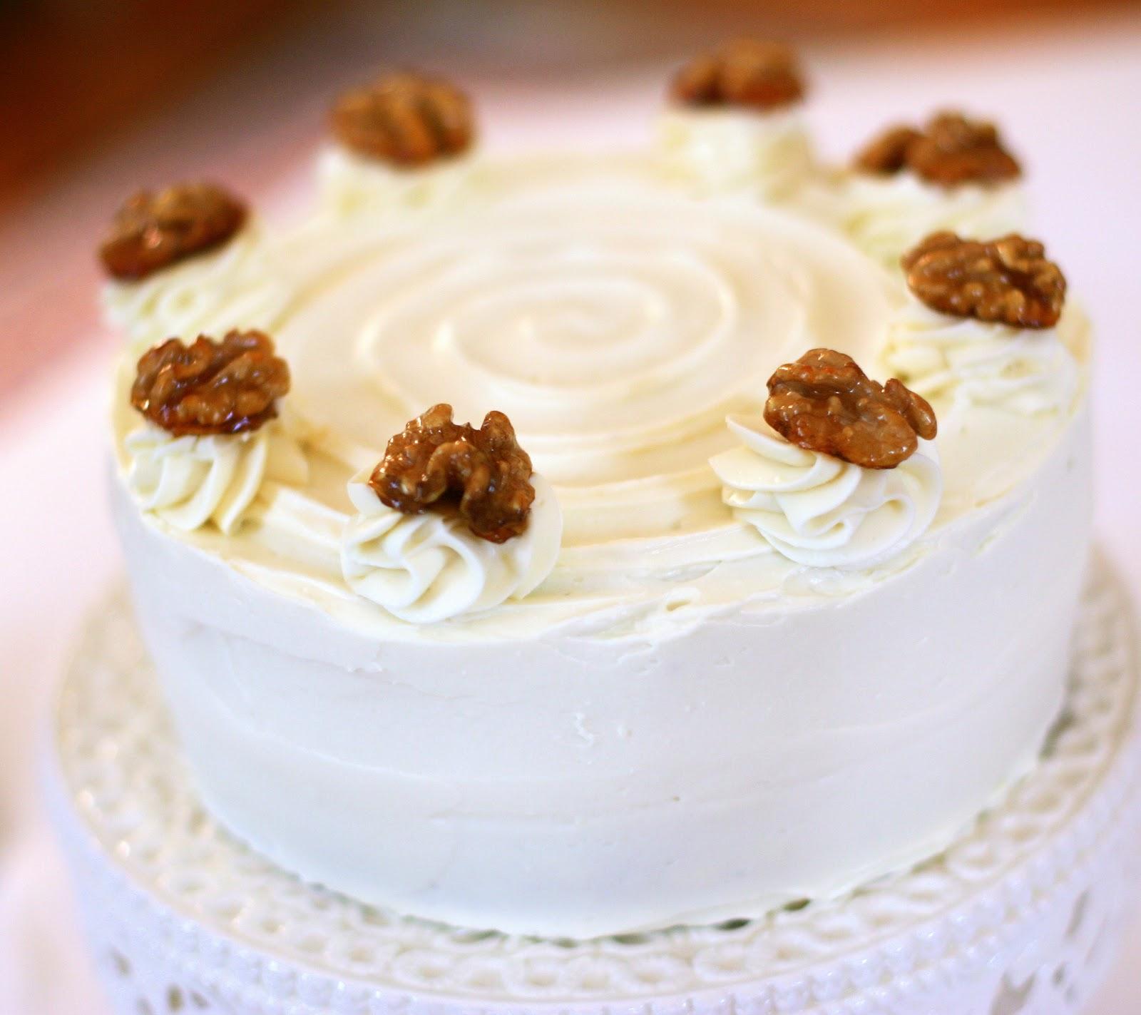 Tish Boyle Sweet Dreams: Walnut Layer Cake With Apple