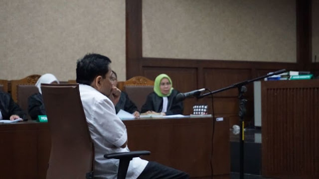 Bacakan Dakwaan Novanto, Ini Yang Disebut Jaksa Pihak-pihak Yang Kecipratan Dana E-KTP