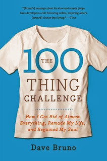 Book cover: 100 Thing Challenge by Dave Bruno