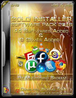 Gold Software Installer [Software Pack 2016] Computer Software [680 7MB]