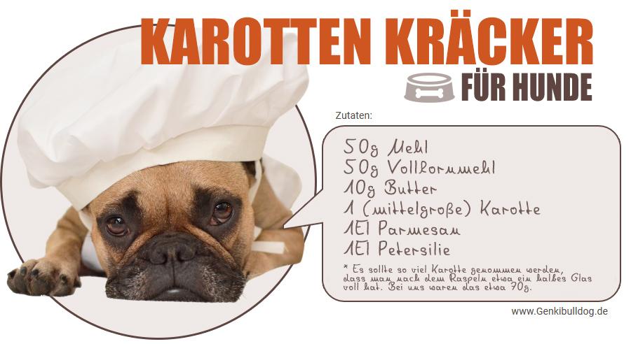 Rezept Hundekekse Karottenkekse für Hunde selbst backen