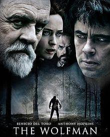 Poster Of The Wolfman 2010 In Hindi Bluray 720P Free Download