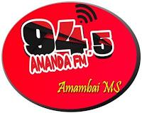 Rádio Amanda FM 94,5 de Amambaí - Mato Grosso do Sul