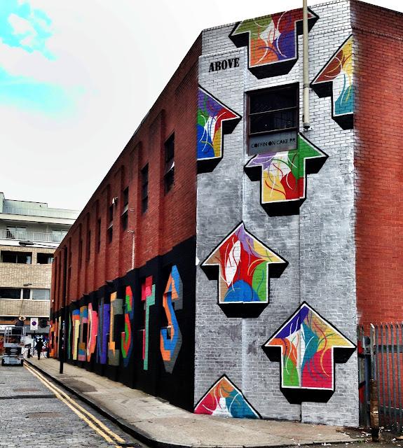 Street Art By Above in London, UK 5