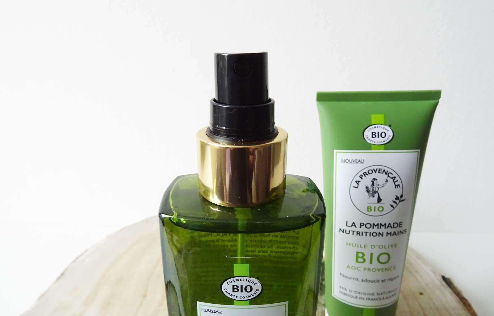 La Provençale soins corps cheveux bio naturels huile beauté