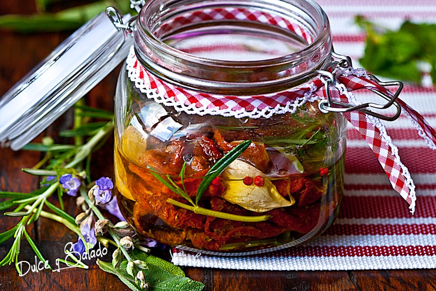 Tomates Secos en Aceite de Oliva