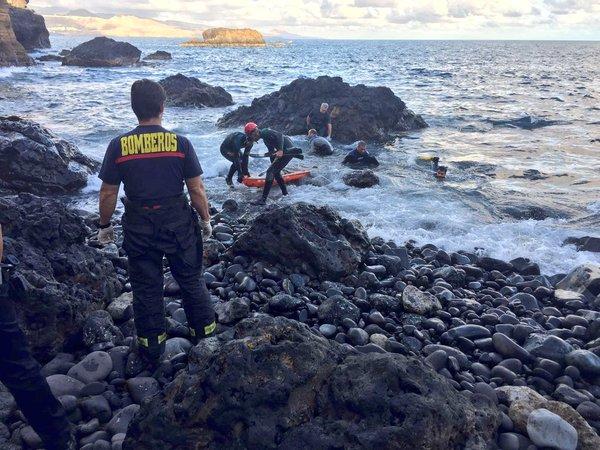 Rescatan cuerpo sin vida en Nidillos Las Palmas Gran Canaria
