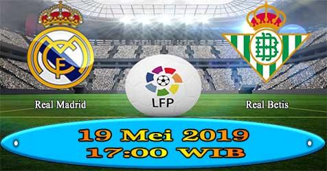 Prediksi Bola855 Real Madrid vs Betis 19 Mei 2019