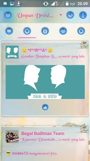 Download Droid Chat Theme Love Birds v3.0.1.25 Apk