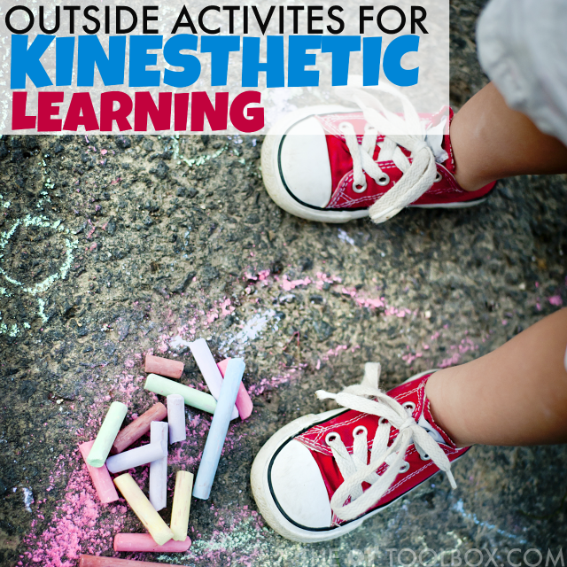 outside activities for kinesthetic learning for kids