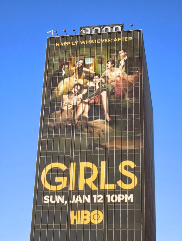 Giant Girls season 3 HBO billboard