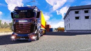 New Scania R1000 Truck Mod Reworked by KacaK version 3.5