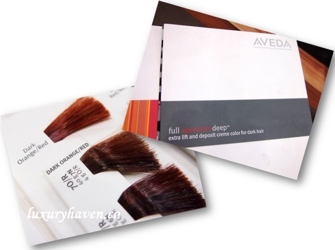 aveda colour hair story korean concept somerset