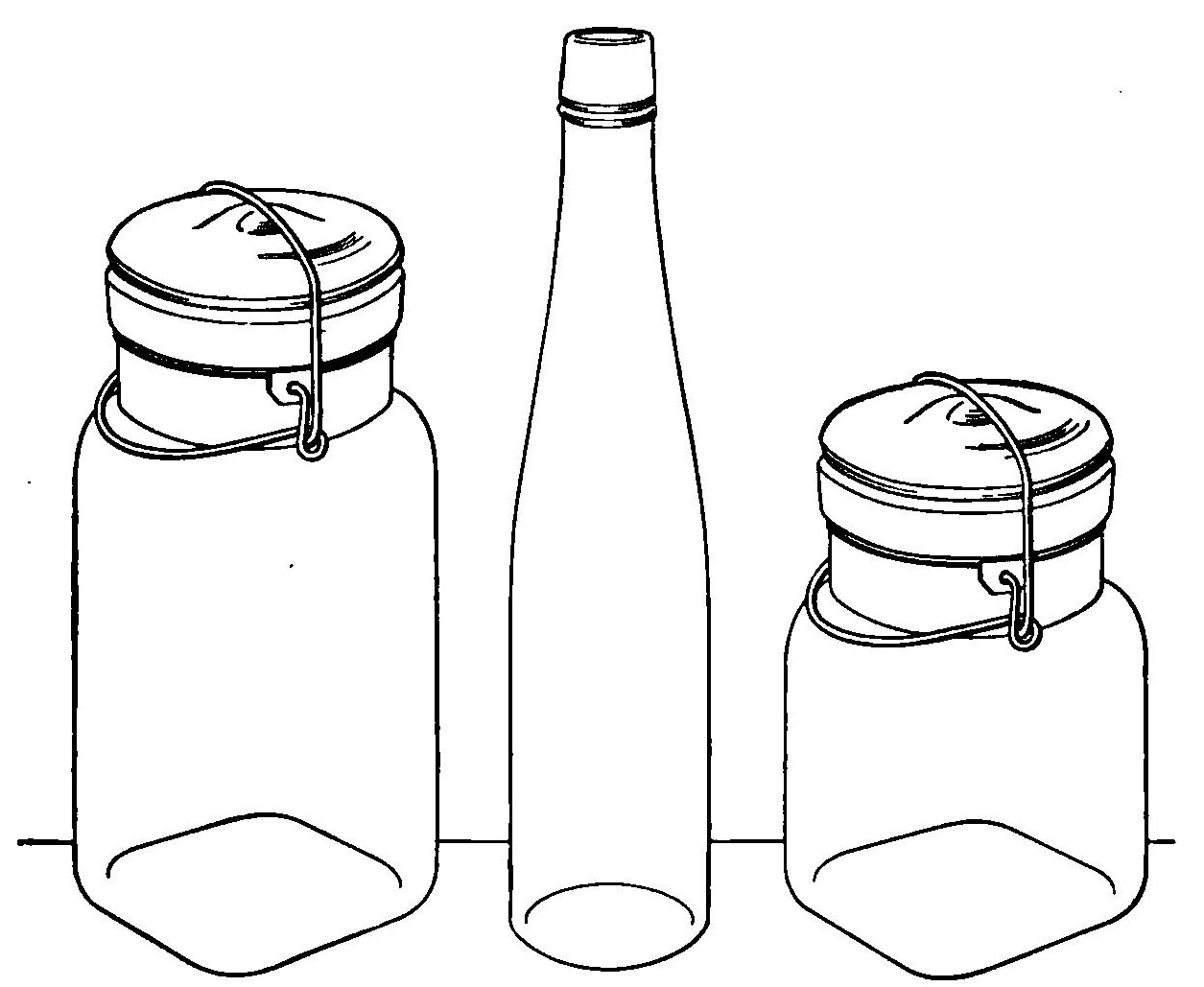 Reading Roses Amp Prose Classic Canning Jars Clip Art