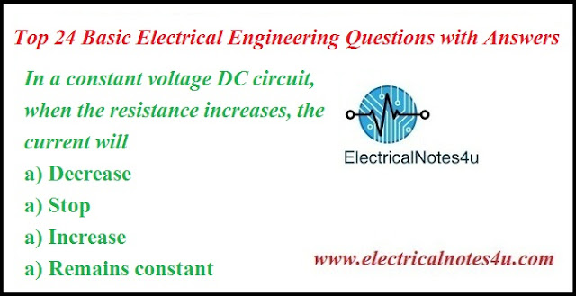 Basic Electrical Engineering Questions