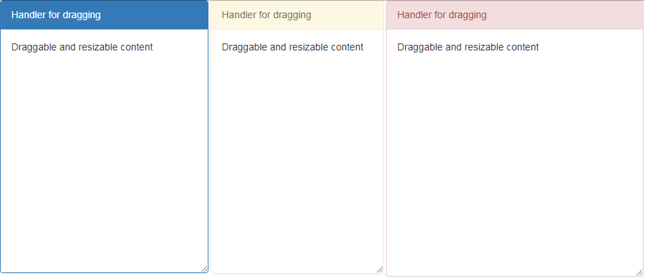 Draggable Resizable without jquery ui