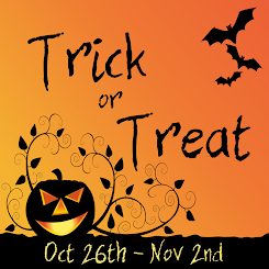 Trick or treat fair free gifts at each store!!