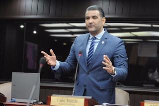 Diputado Luis Alberto Tejeda llama reflexión y al amor al prójimo en Semana Santa conduciendo con responsabilidad.